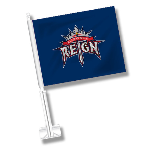 Southern Indiana Reign Car Flag