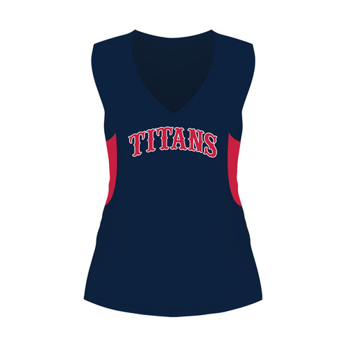 Carolina Titans Ladies Sleeveless Shirt