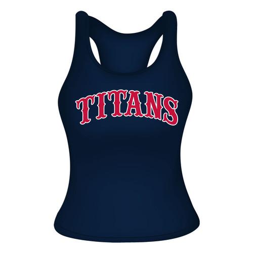 Carolina Titans Racerback - Navy