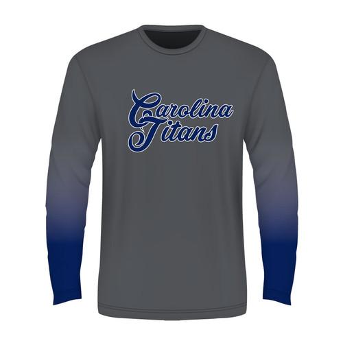 Carolina Titans Long Sleeve T - Sublimated