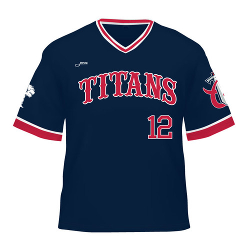 Carolina Titans Replica Jersey - Navy
