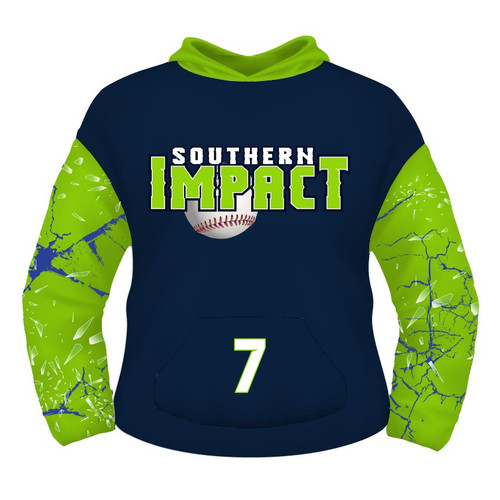 Southern Impact Hoodie - Broken Sleeves - Sublimated