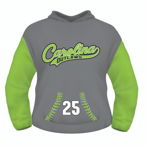 Carolina Outlaws Hoodie - Sublimated