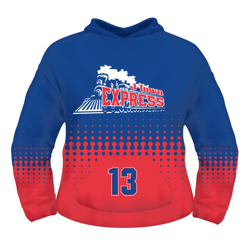 J-Town Express Hoodie - Sublimated