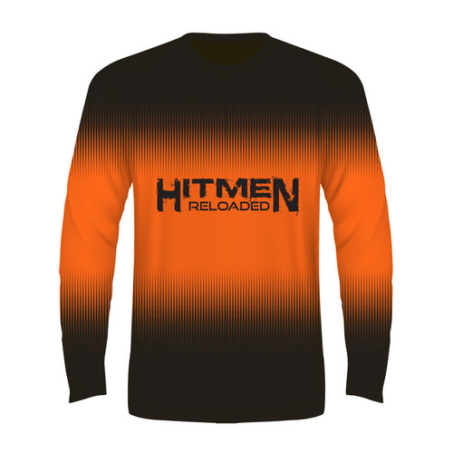 Hitmen Reloaded Long Sleeve T - Orange - Sublimated