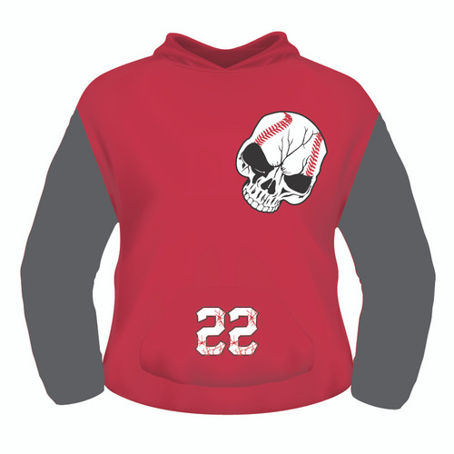 Pamplico Punishers Hoodie - Sublimated