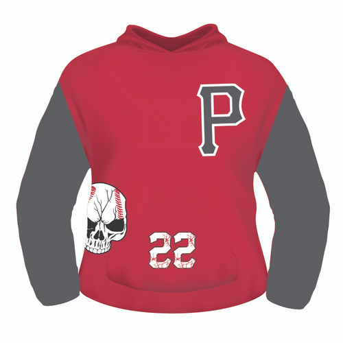 Pamplico Punishers Hoodie - P - Sublimated