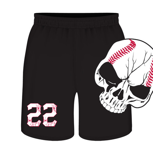 Pamplico Punishers Shorts - Sublimated