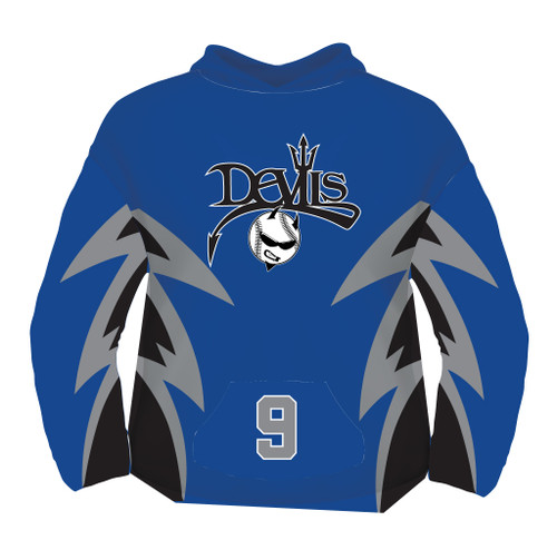 Devils Sublimated Hoodies