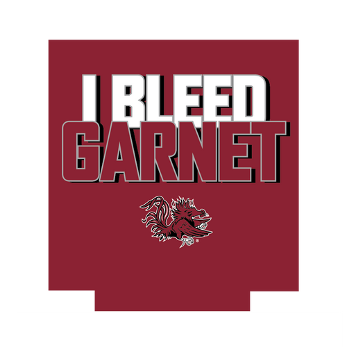 South Carolina Can Hugger- I Bleed Garnet