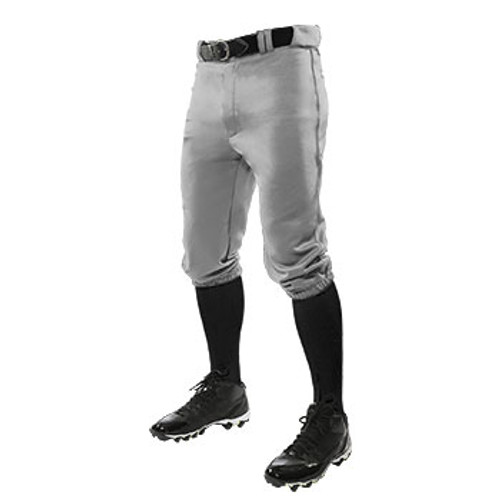 Baseball Knickers--Gray