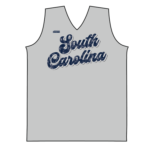 State-10 -- Sleeveless Vintage 70's Script -- South Carolina