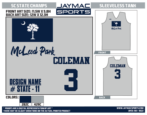 State-11 --State Flag - Home Park Design