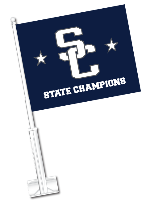 Car Flag - SC State Champs