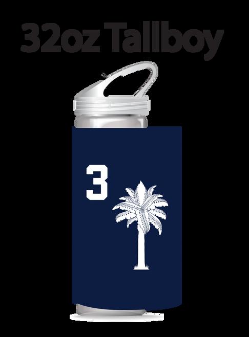 SC Champs 32 oz Tallboy
