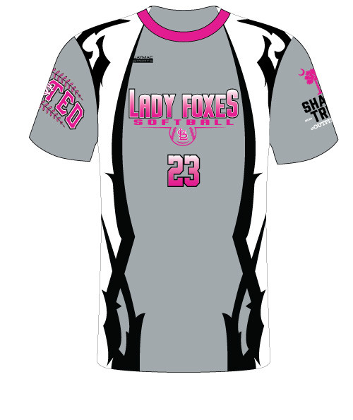 Lamar Lady Foxes Jersey