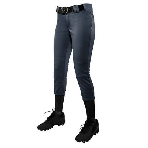 Ladies and Girls Graphite Softball Pants