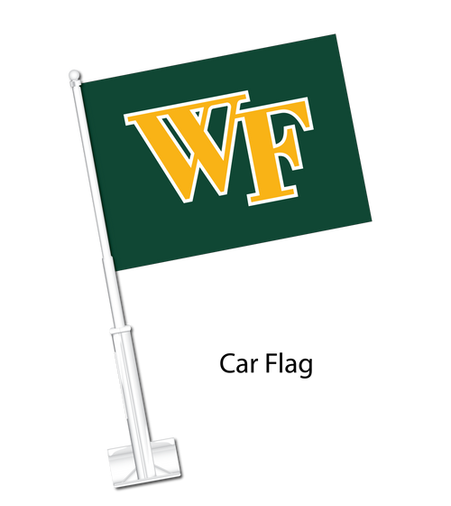 West Florence Car Flag