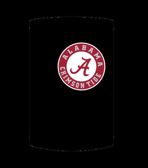 Alabama Crimson Tide Neck Gaiter- Black Circle A Reusable - Washable