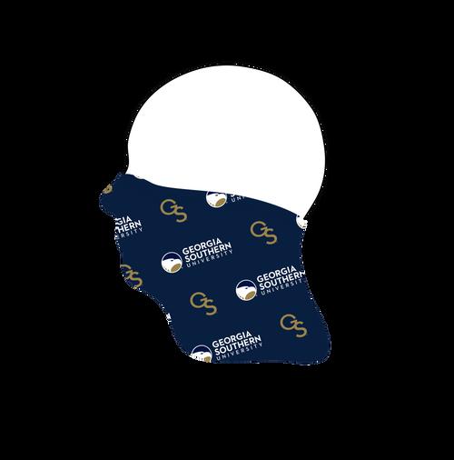 Georgia Southern Neck Gaiter- Tiled Logo- Reusable - Washable