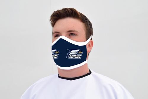 Ga Southern Face Mask - Standard Logo - Reusable - Washable