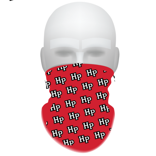 HP Red Raiders Neck Gaiter 2 - Reusable - Washable