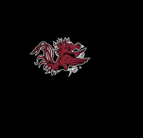 USC Gamecock Neck Gaiter- Black Gamecock Logo - Reusable - Washable
