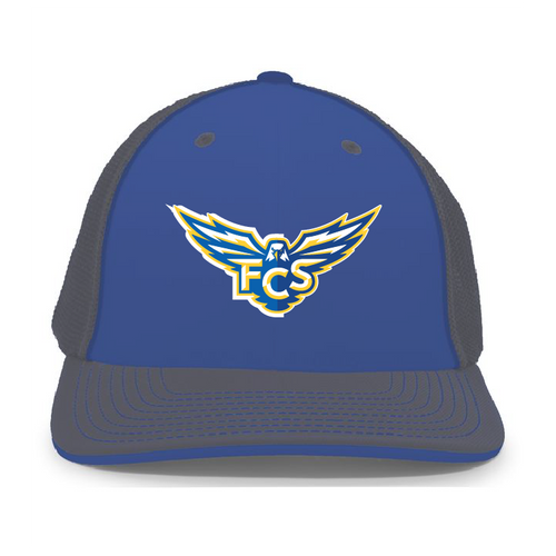 FCS - Flexfit Trucker Hat _Royal_Graphite