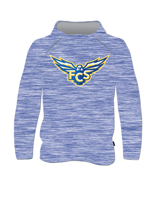 FCS Lightweight RaglanT-Shirt Hoodie - Youth
