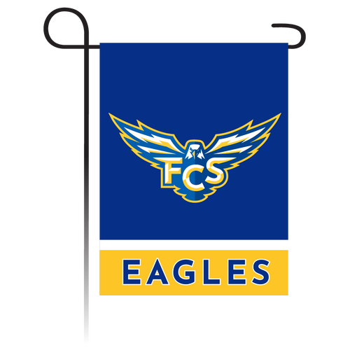 FCS Eagles Garden Flag