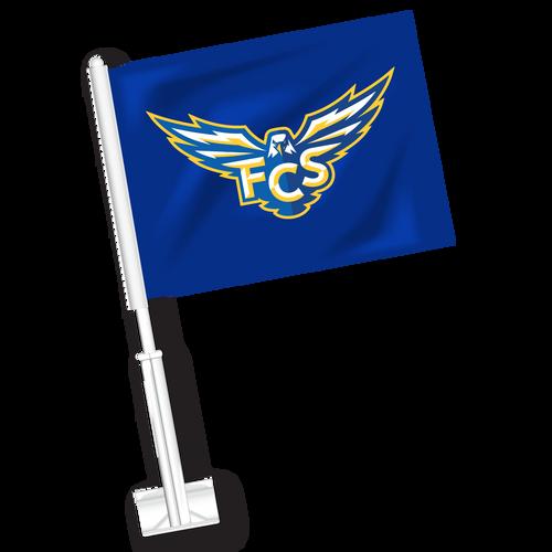 FCS Car Flag