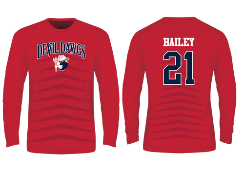 Devil Dawgs Long Sleeve T - Sublimated