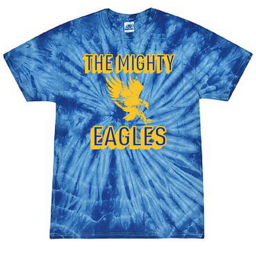 FCS 7th Grade Class T Shirt - Tie Dye - Mighty Eagles