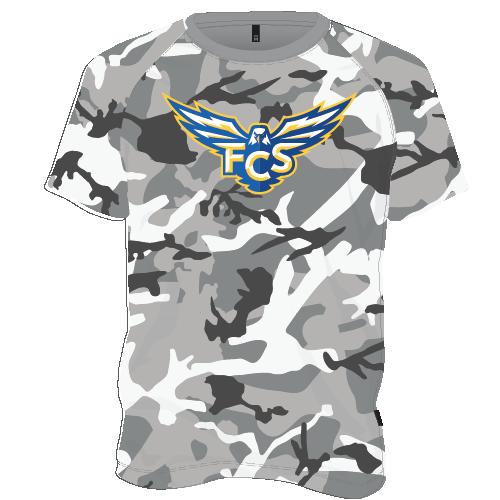 FCS Dry Fit Camo Shirt - Gray