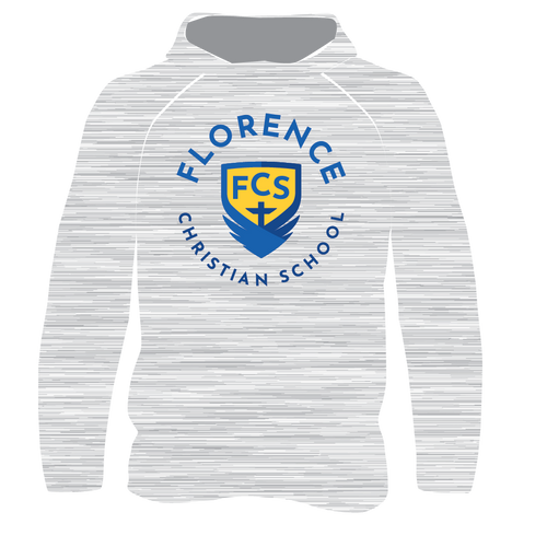 Academic Logo FCS Lightweight T-Shirt Hoodie - Gray