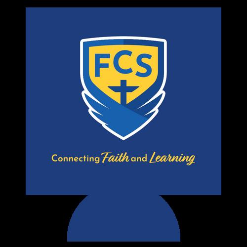 FCS Academic Logo Can Hugger