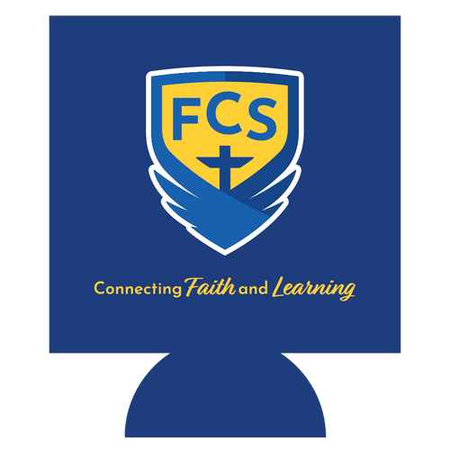 FCS Academic Logo Can Hugger