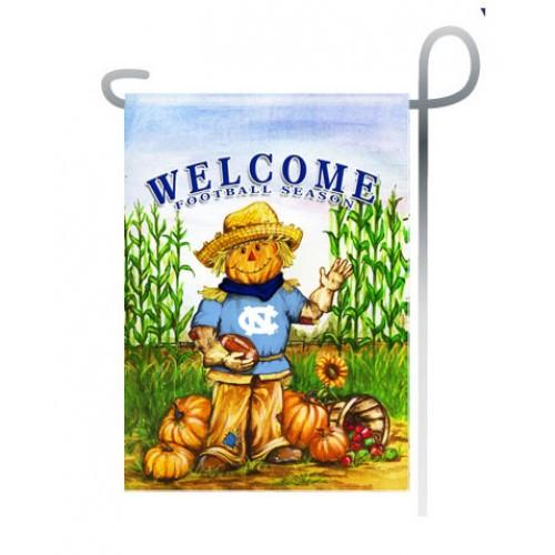 UNC Scarecrow Garden Flag