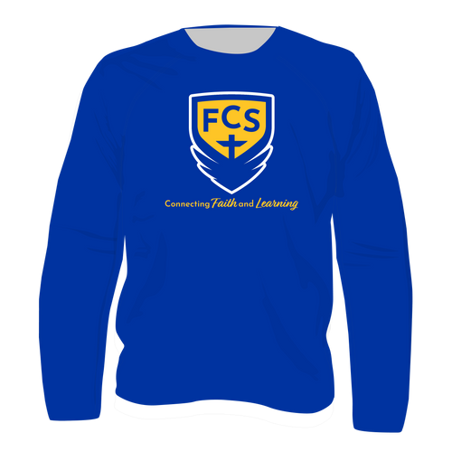 Special Offer:  FCS Academic Logo Long Sleeve T Shirt