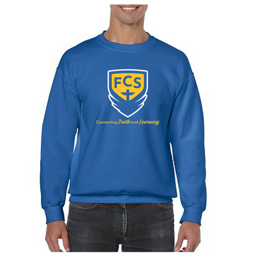 Special Offer: FCS Cotton Crew Neck Sweatshirt-Academic Logo