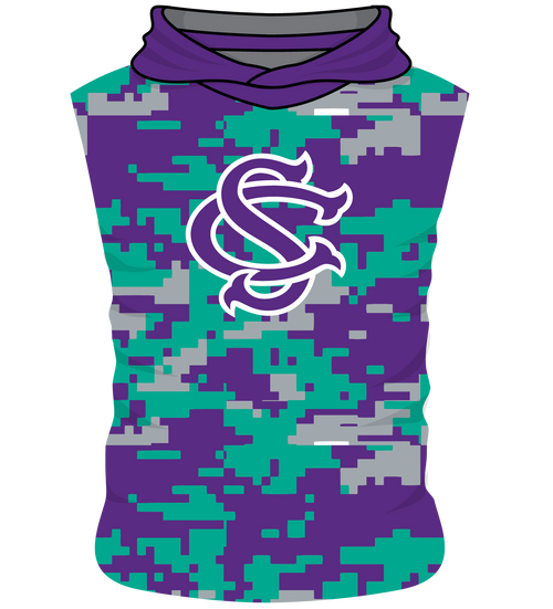 SC United Sleeveless Hoodie - Body Flex  - Digicam Design