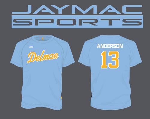 Delmae All Star Parent Shirt - Crew Neck Blue