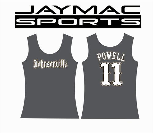 Johnsonville Baseball All Star Parent Shirt - Tank Top Graphite