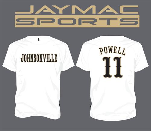 Johnsonville Baseball All Star Parent Shirt - Spot Sub White Crew Neck