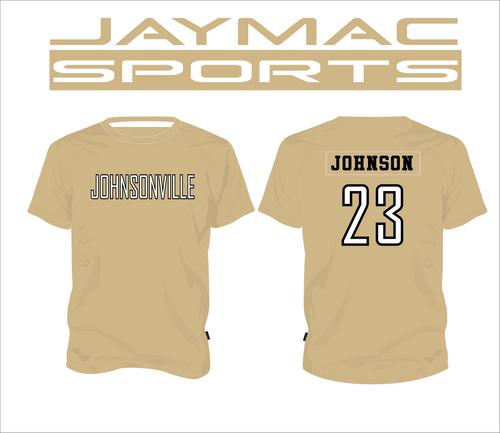 Johnsonville Softball All Star Parent Shirt - Crew Neck Gold