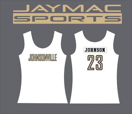Johnsonville Softball All Star Parent Shirt - Tank Top White