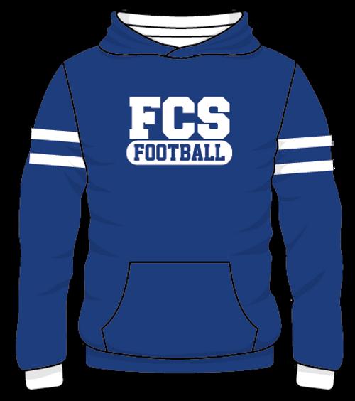 FCS Rugby Style Fleece Hoodie