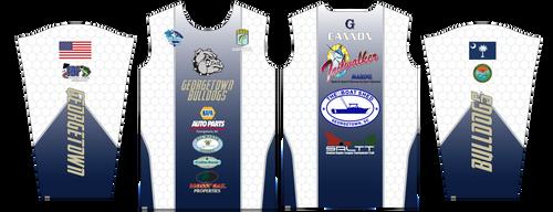 Georgetown Bulldogs Fishing Jersey - Longsleeve