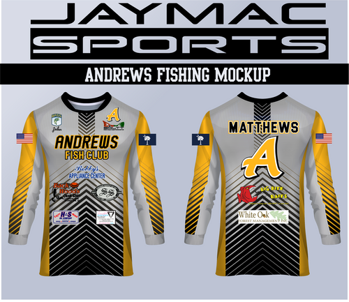 Andrews Fishing Jersy