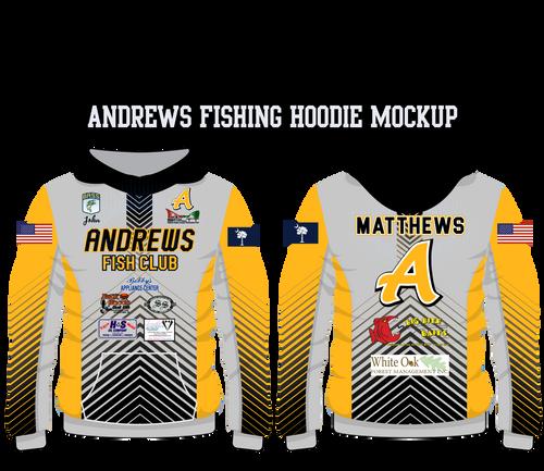 Andrews Fleece Fishing Hoodie